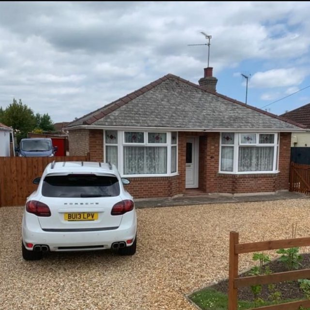 A two bedroom detached bungalow in Wisbech - another purchase completed & another happy vendor. Get in touch to see what we can do for you on 0800 051 7645 or enter your property details; www.ukhomebuyersltd.co.uk
